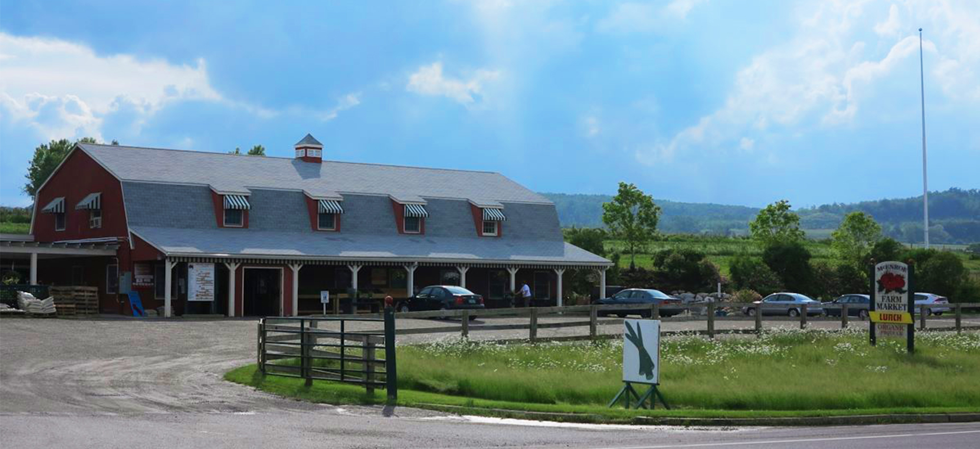 McEnroe Organic Farm Market is Located on 5409 Route 22 in Millerton, New York